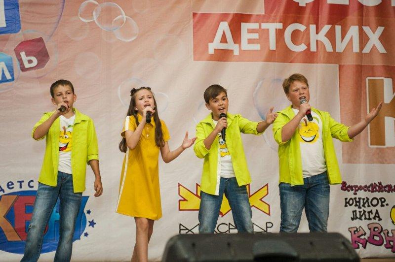 Курская команда попала в «Детский КВН» на СТС