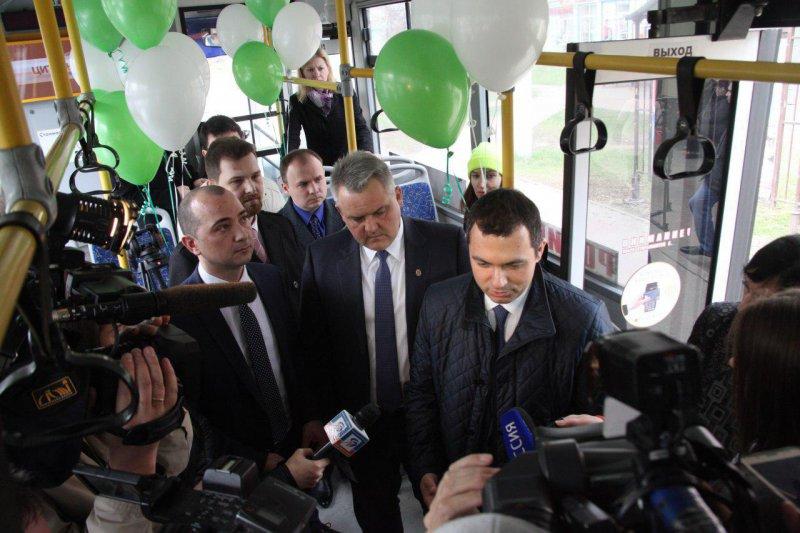 В Белгороде оплатить проезд в городском автобусе можно банковской картой