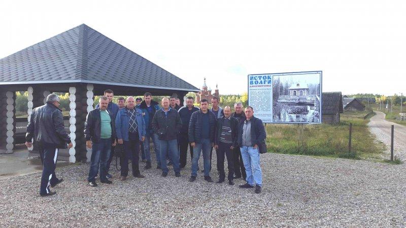 Сотрудники Курскэнерго , участвующие в учениях «Россетей» в Тверской области, посетили в выходные учреждения культуры города Осташков