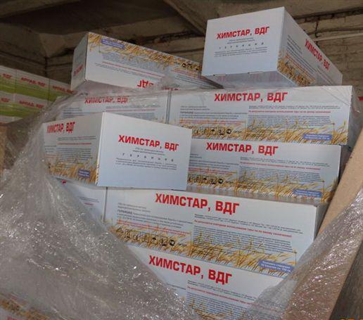 Курская таможня обнаружила почти 4 тонны лишних гербицидов