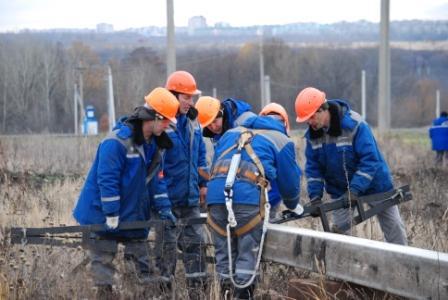 Курскэнерго организовало в регионе совместные учения по ликвидации массовых отключений электроэнергии