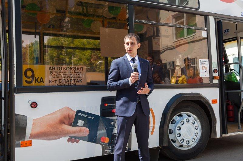В Воронеже стартовала система безналичной оплаты проезда в автобусах «Воронежпассажиртранс»