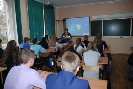 Специалисты Курскэнерго провели урок электробезопасности для трудных подростков