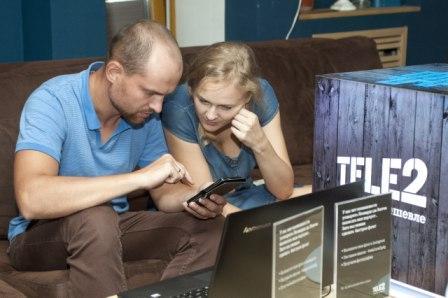 Абоненты Tele2 проговорили в праздники более полумиллиарда минут