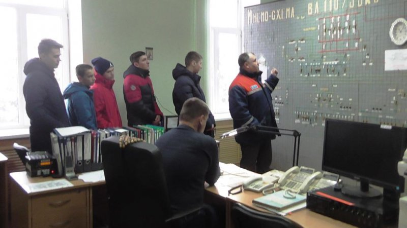 Курскэнерго продолжает  профориентационную работу среди школьников
